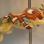 Shepperd Terrier, escultura en madera de Tim Racer