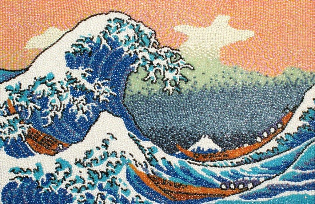 La gran ola de Kanagawa, Hokusai