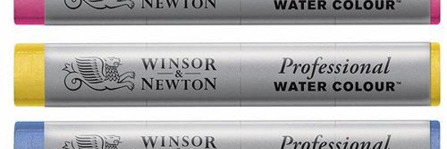 Todo sobre las nuevas barritas de acuarela Winsor&Newton