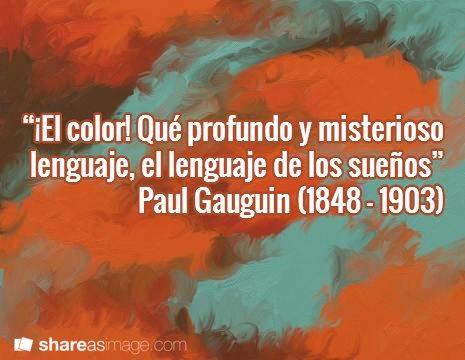 Frase de Van Gogh sobre el color