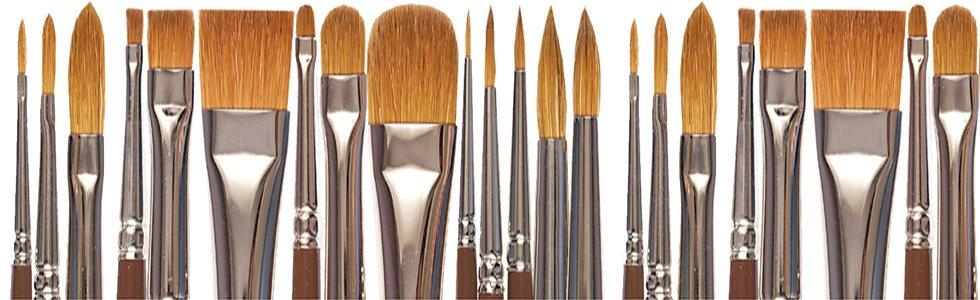 Pinceles para pintar al óleo