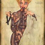 Tatuajes pin up - Ramon Maiden