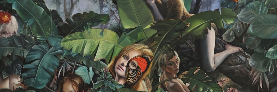 Surrealismo y mordacidad: el arte de David M. Bowers