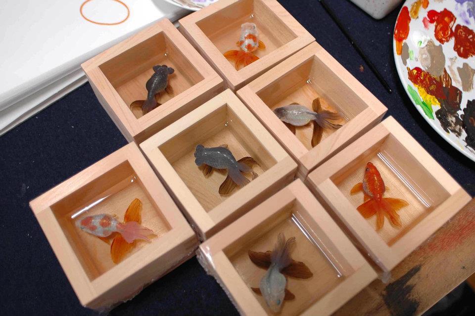 Las ilusiones pticas de riusuke fukahori noticias totenart - Pintura de resina ...