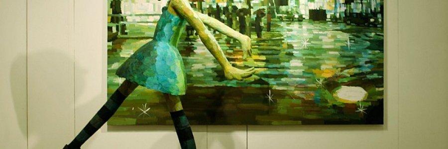 ¿Pintura o escultura? El arte de Shintaro Ohata