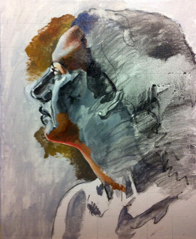 C mo pintar con grisalla tutoriales arte de totenart - Como hacer color gris ...