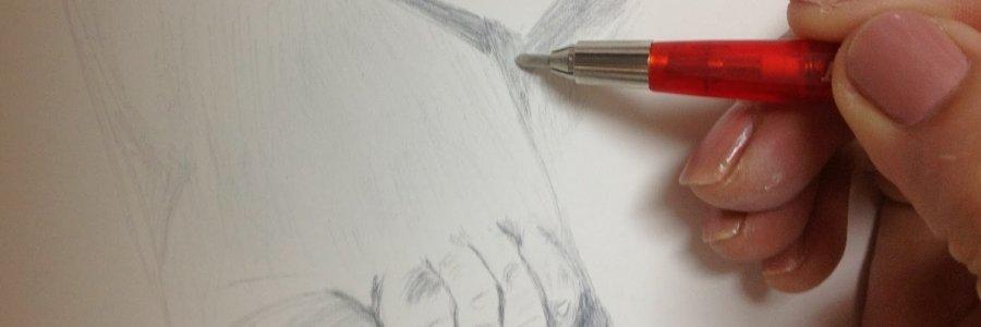 Dibujando a punta de plata