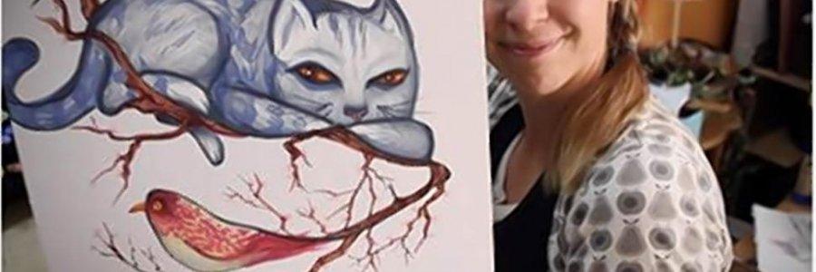 Mary doodles, arte viralizado