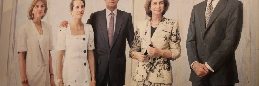 Veinte años de retrato de la Familia Real