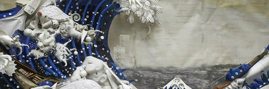 Exprimiendo nuestro entorno, arte reciclado.
