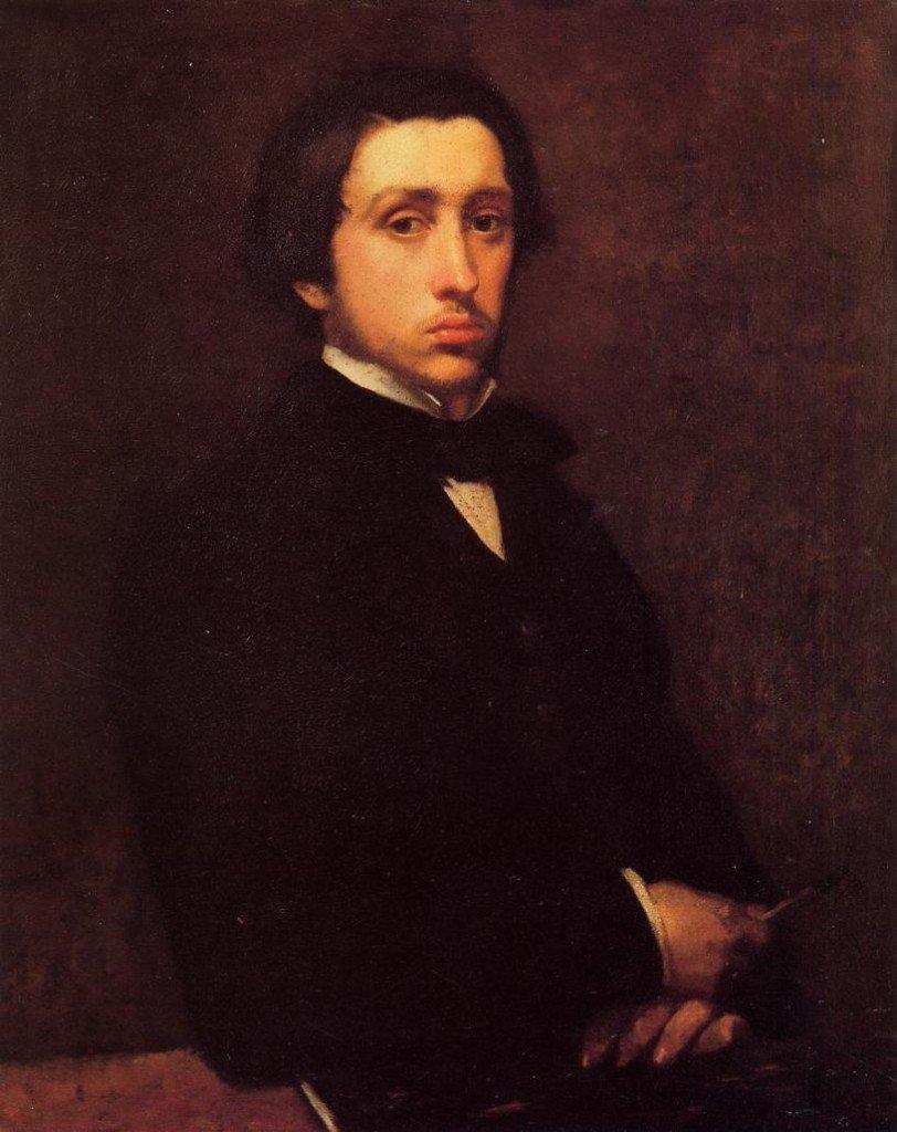 Autorretrato-Edgar Degas-Noticias-Totenart