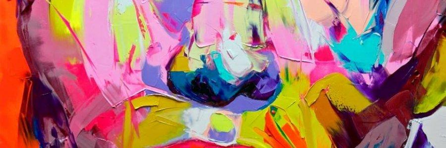 El colorido arte de Françoise Nielly
