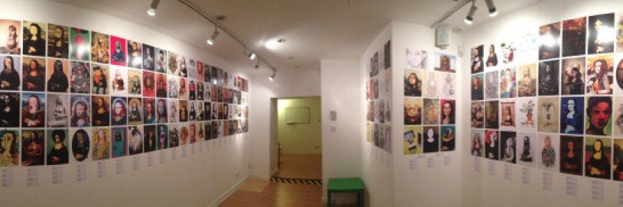 Gioconda Project, un cuadro realizado por infinidad de artistas
