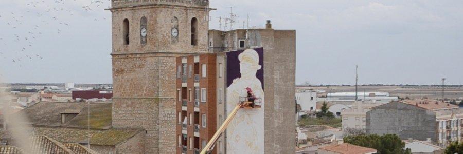 El Don Quijote más grande jamás pintado