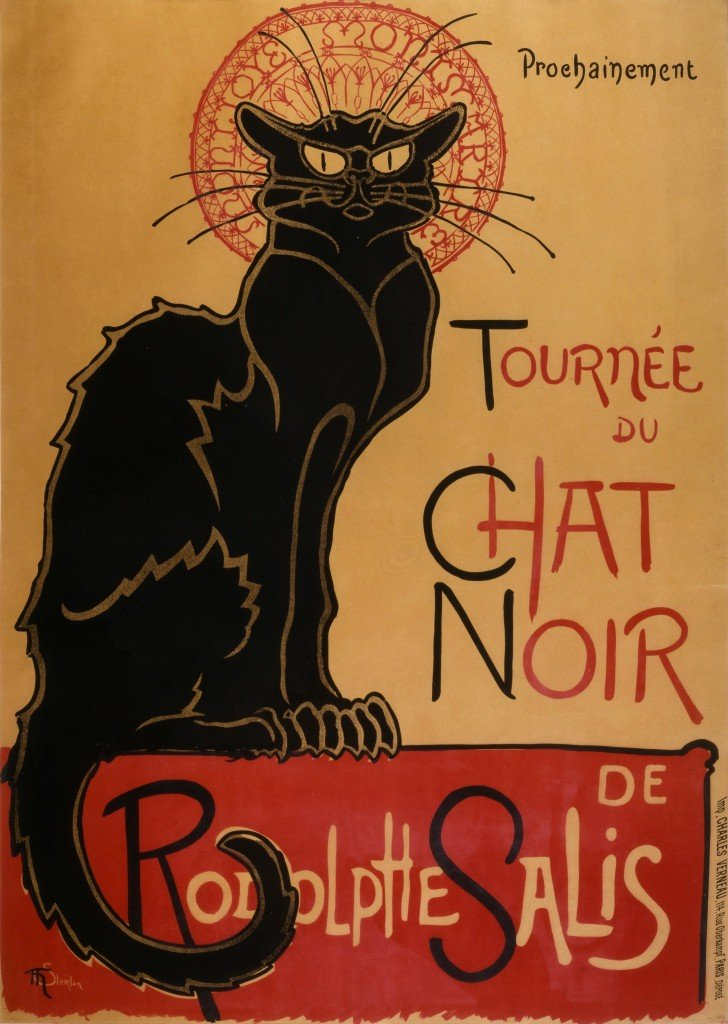 gatos-chat-noir-arte-animales-noticias-totenart
