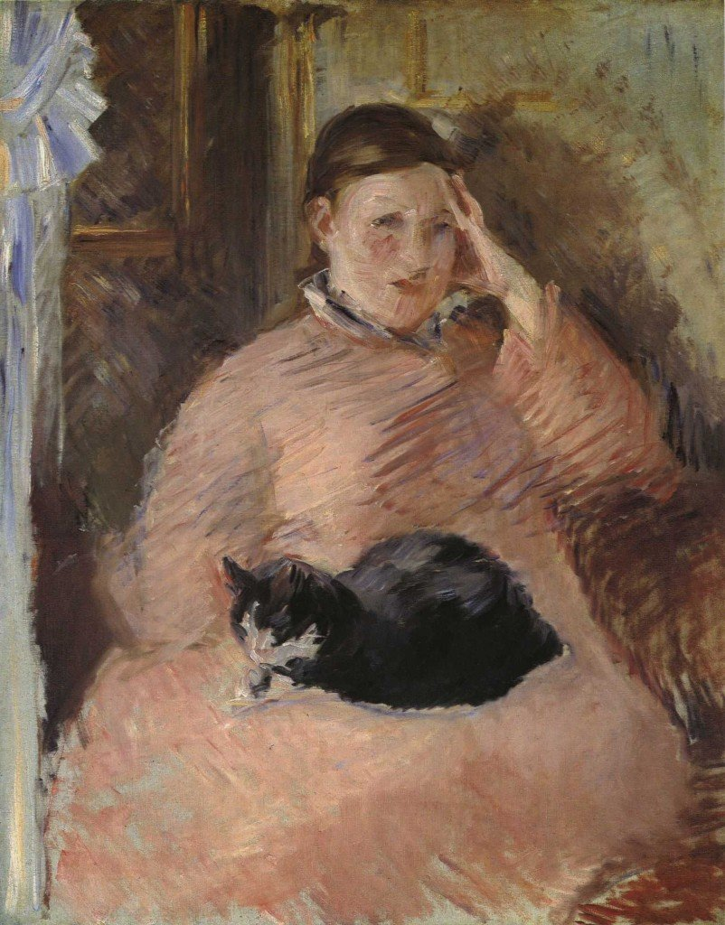 gatos-madame-manet-animales-noticias-totenart