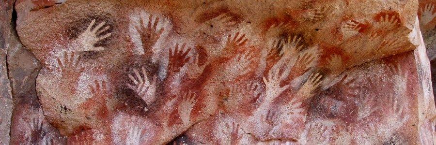 Las pinturas rupestres tienen huella femenina