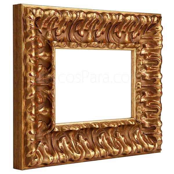 Bonito Antiguo Marco De Madera Para Foto Vidrio Con Imagen Pintura Pintado Muebles Antiguos Y Decoración