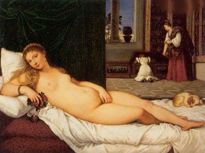 """Desnudos- Tiziano Vecellio """"La Venus de Urbino""""-noticias-totenart"""