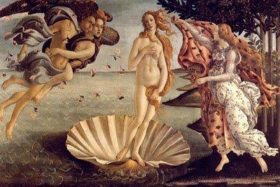 desnudos-botticelli-El nacimiento de Venus-noticias-totenart - copia