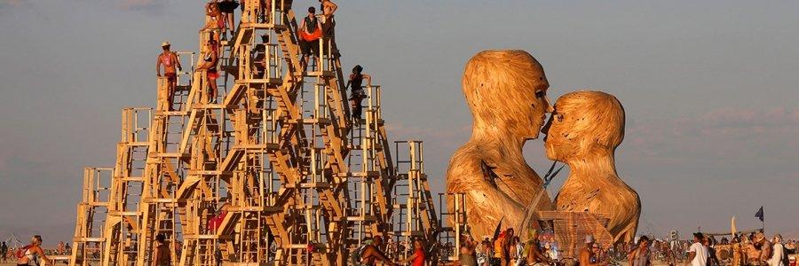 El Festival Burning Man de Nevada plantará una falla valenciana