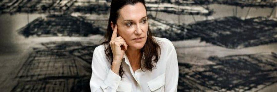 La escultora Cristina Iglesias, Tambor de Oro 2016