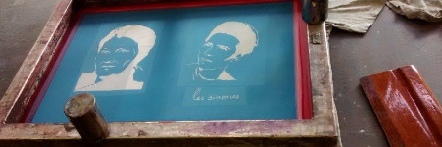 Des Simones, serigrafía comprometida