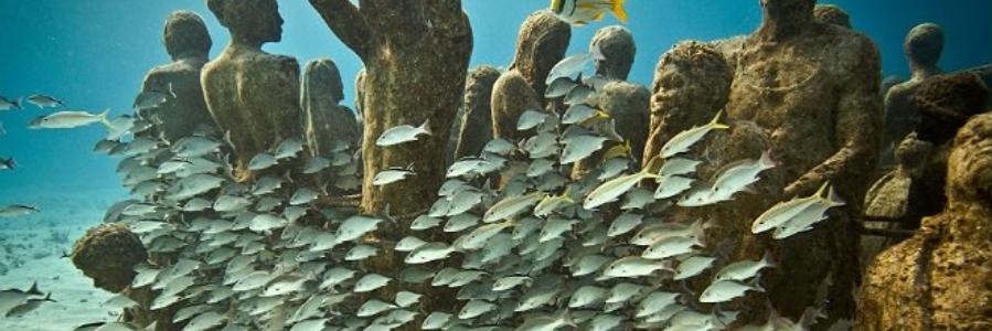 El primer museo submarino se encuentra en Lanzarote