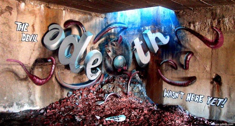 Odeith-graffittis-totenart