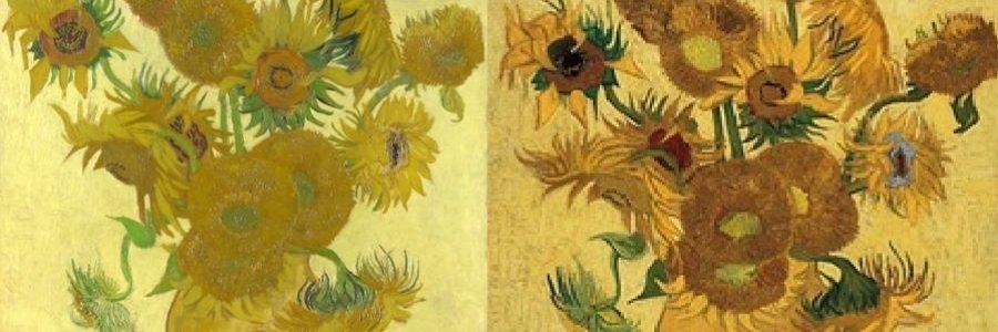 ¿Por qué se oxidan los girasoles de Van Gogh?
