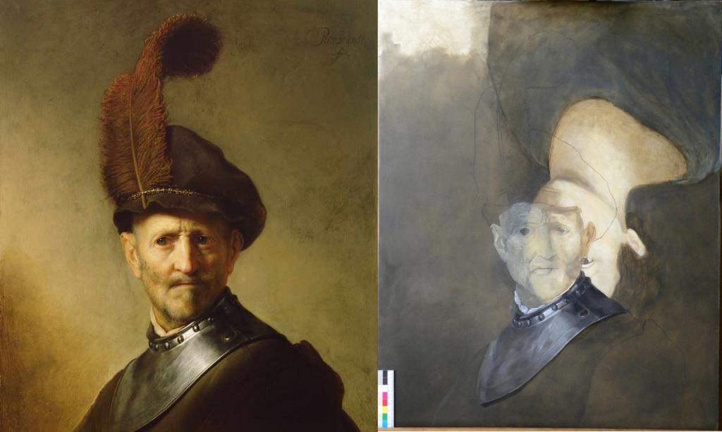 un hombre viejo - Secretos Ocultos en obras de arte - Noticias Totenart