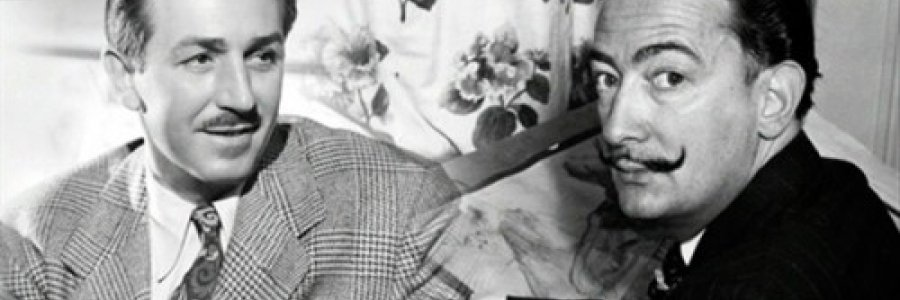 Walt Disney y Salvador Dalí, dos genios más que amigos