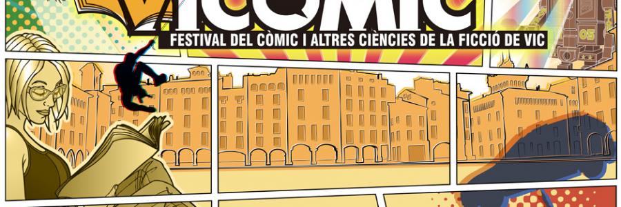 Amantes del cómic: presentamos el VICOMIC