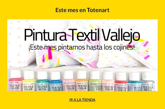 pintura textil vallejo