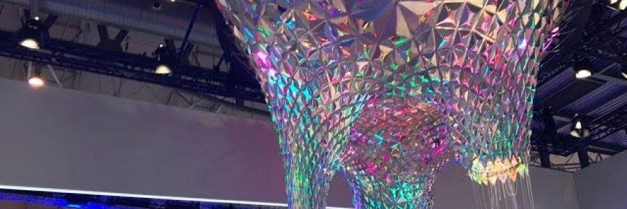 IBM se inspira en Gaudí para crear una escultura pensante