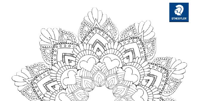 Concurso de coloreado de mandalas Staedtler - Noticias de Arte Totenart
