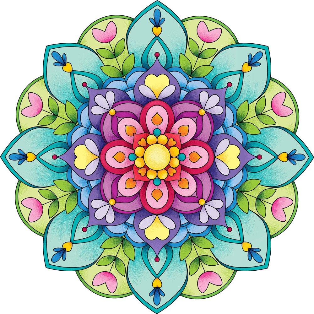 Concurso De Coloreado De Mandalas Staedtler Noticias De Arte Totenart