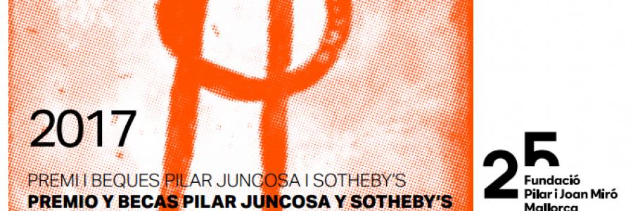 Premios y Becas Pilar Juncosa y Joan Miró, participa