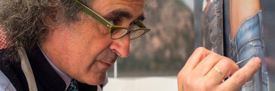 Yigal Ozeri, Fotorrealista de musas