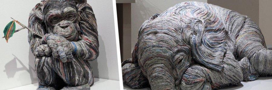 Las increíbles esculturas de Chie Hitotsuyama