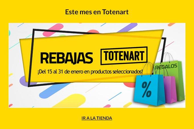 Rebajas Totenart 2018