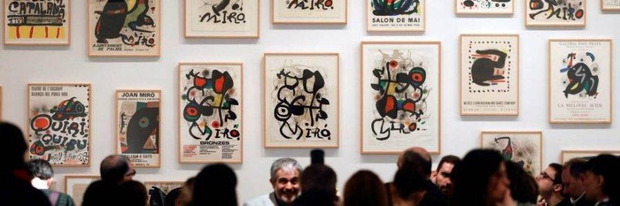Joan Miró, orden y desorden en el IVAM, hasta Julio