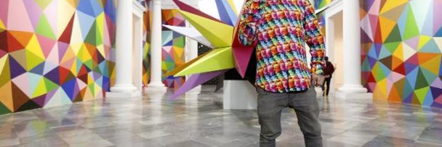 Okuda llena de color Valencia hasta finales de mayo
