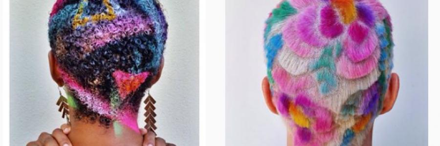 Hair Stencil o como colorear tu cabello