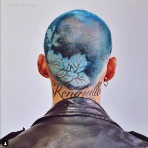 totenart-hair stencil