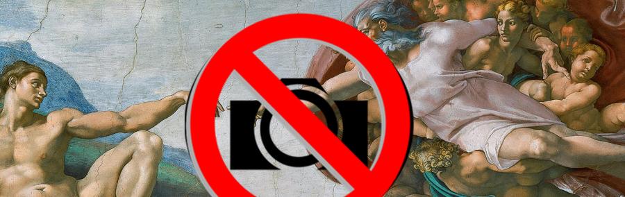 ¡Prohibido sacar fotos!