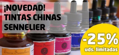 Novedad Tintas Chinas Sennelier