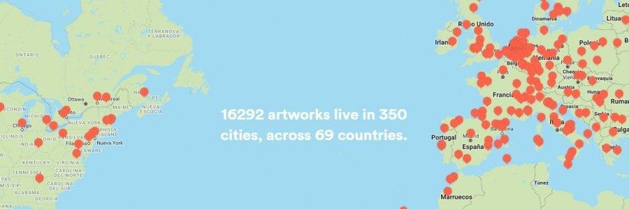Todo el arte callejero en tu móvil:  Nueva app de Street Art