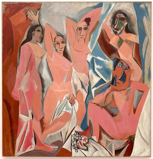 Las señoritas de Avignon, Pablo Picasso.