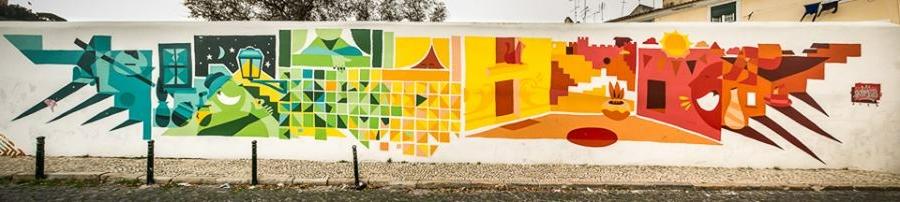 GAU: la iniciativa que llena Lisboa de color